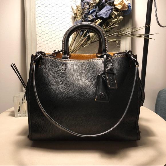 Coach 1941 black rouge bag